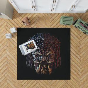 The Predator Movie Alien Sci Fi Skull Bedroom Living Room Floor Carpet Rug 1
