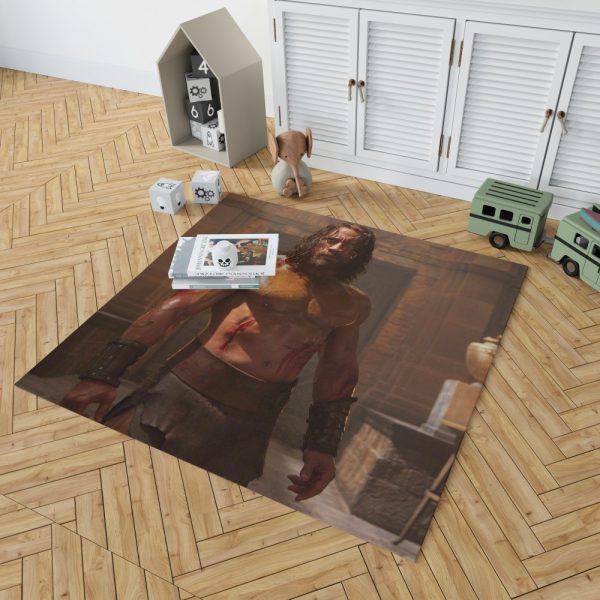 The Rock in Hercules Movie 2014 Bedroom Living Room Floor Carpet Rug 2