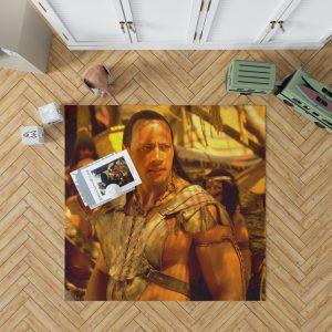 The Scorpion King Movie Dwayne Johnson Bedroom Living Room Floor Carpet Rug 1