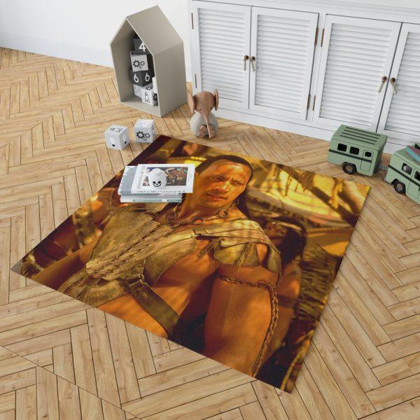 The Scorpion King Movie Dwayne Johnson Bedroom Living Room Floor Carpet Rug 2