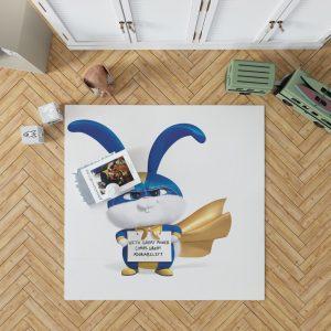 The Secret Life of Pets 2 Movie Snowball Bedroom Living Room Floor Carpet Rug 1