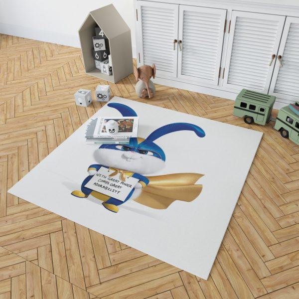 The Secret Life of Pets 2 Movie Snowball Bedroom Living Room Floor Carpet Rug 2
