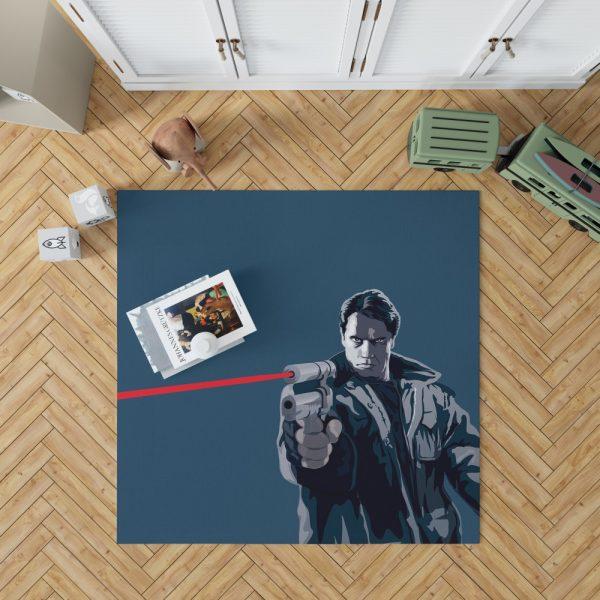 The Terminator Movie Bedroom Living Room Floor Carpet Rug 1