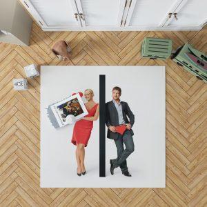 The Ugly Truth Movie Gerard Butler Katherine Heigl Bedroom Living Room Floor Carpet Rug 1