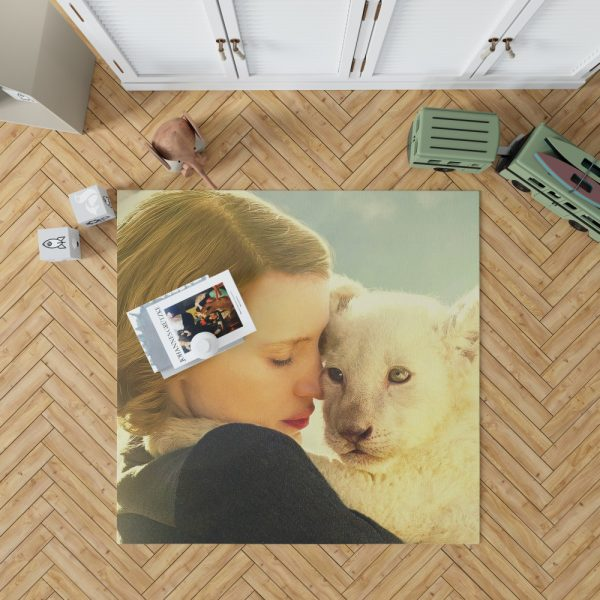 The Zookeeper's Wife Movie Jessica Chastain Bedroom Living Room Floor Carpet Rug 1