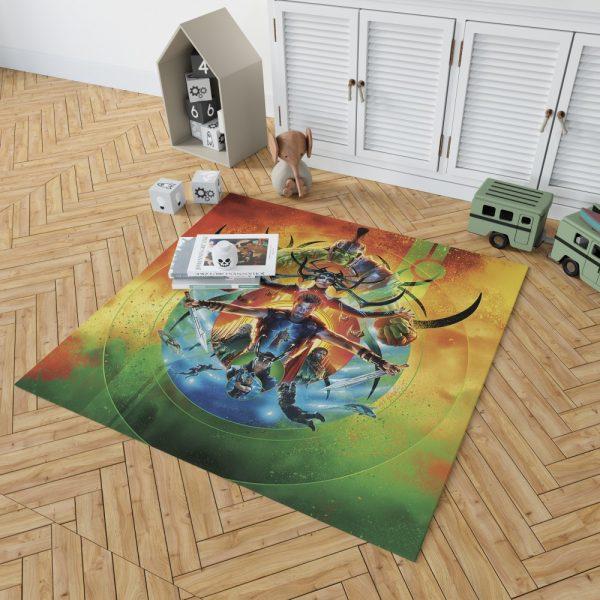 Thor Ragnarok Marvel Cinematic Universe's Bedroom Living Room Floor Carpet Rug 2