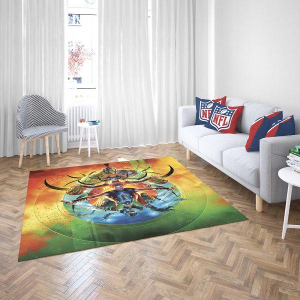 Thor Ragnarok Marvel Cinematic Universe's Bedroom Living Room Floor Carpet Rug 3