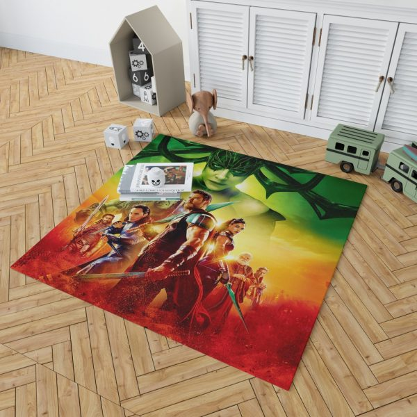 Thor Ragnarok Super Heroes Movie Bedroom Living Room Floor Carpet Rug 2