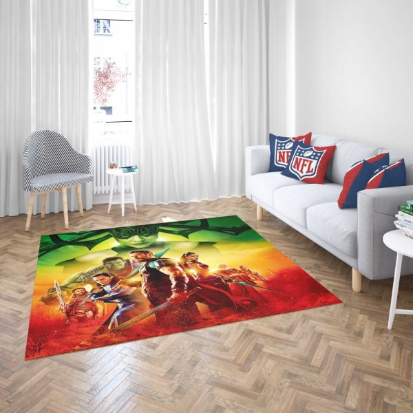 Thor Ragnarok Super Heroes Movie Bedroom Living Room Floor Carpet Rug 3