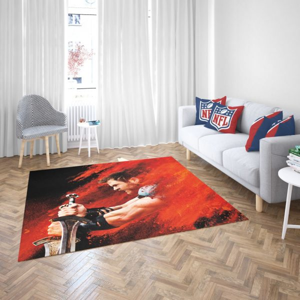 Thor Ragnarok Thor Chris Hemsworth Bedroom Living Room Floor Carpet Rug 3