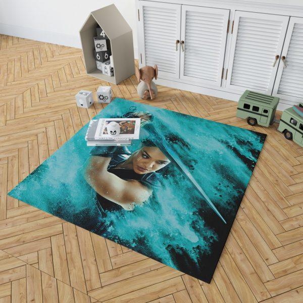 Thor Ragnarok Valkyrie Tessa Thompson Bedroom Living Room Floor Carpet Rug 2