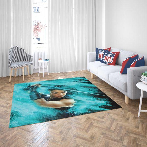 Thor Ragnarok Valkyrie Tessa Thompson Bedroom Living Room Floor Carpet Rug 3