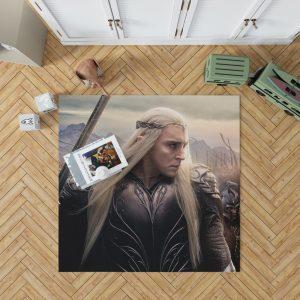 Thranduil Elvenking in The Hobbit Battle of the Five Armies Movie Bedroom Living Room Floor Carpet Rug 1