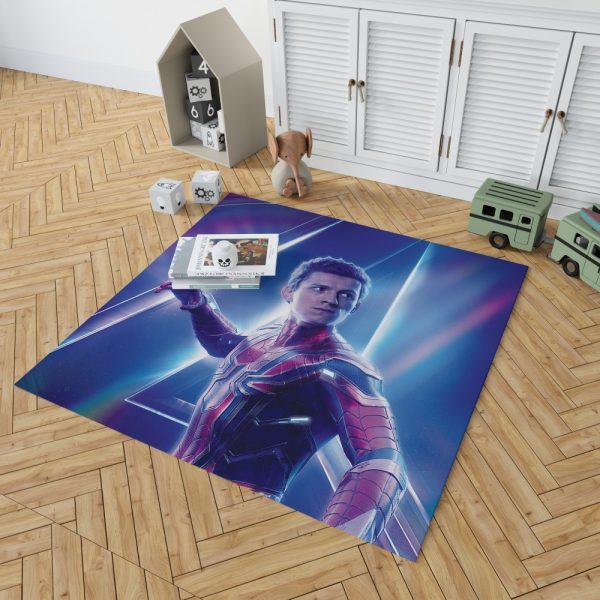 Tom Holland Peter Parker Spider Man Bedroom Living Room Floor Carpet Rug 2