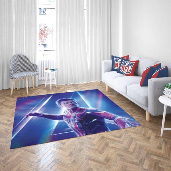 Tom Holland Peter Parker Spider Man Bedroom Living Room Floor Carpet Rug 3