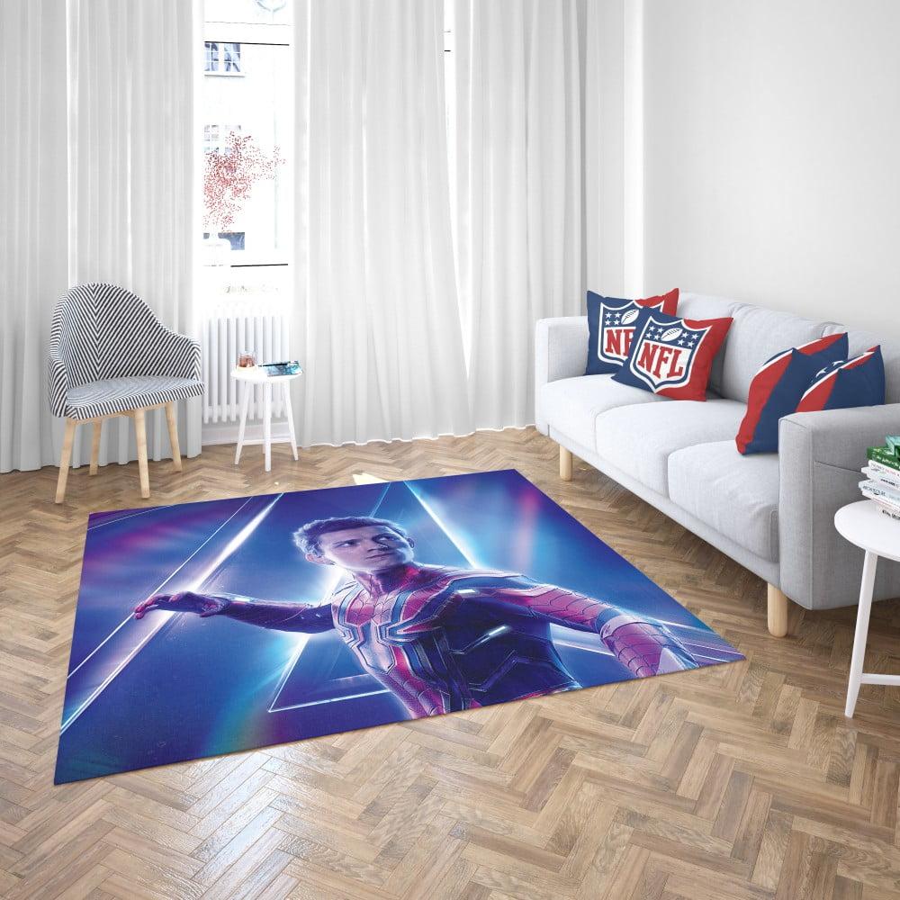Tom Holland Peter Parker Spider Man Bedroom Living Room Floor Carpet Rug Ebeddingsets