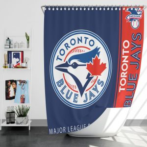 Toronto Blue Jays MLB Baseball American League Bath Shower Curtain