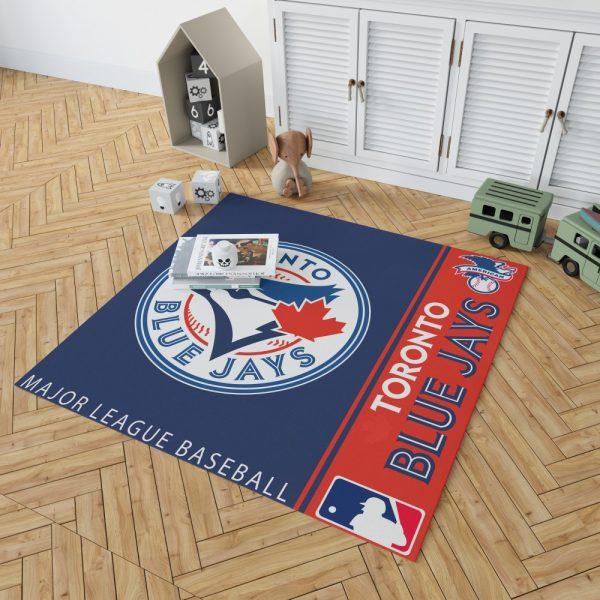 Toronto Blue Jays MLB Baseball American League Floor Carpet Rug Mat 2