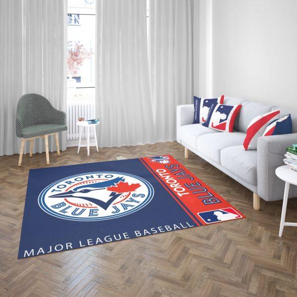 Toronto Blue Jays MLB Baseball American League Floor Carpet Rug Mat 3