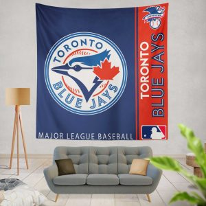 Toronto Blue Jays MLB Baseball American League Wall Hanging Tapestry