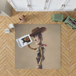 Toy Story 4 Movie Woody Bedroom Living Room Floor Carpet Rug 1
