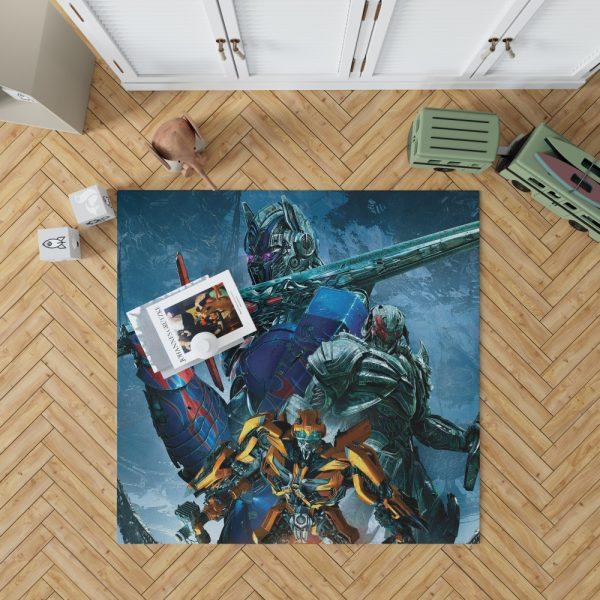 Transformers The Last Knight Movie Bumblebee Megatron Optimus Prime Bedroom Living Room Floor Carpet Rug 1