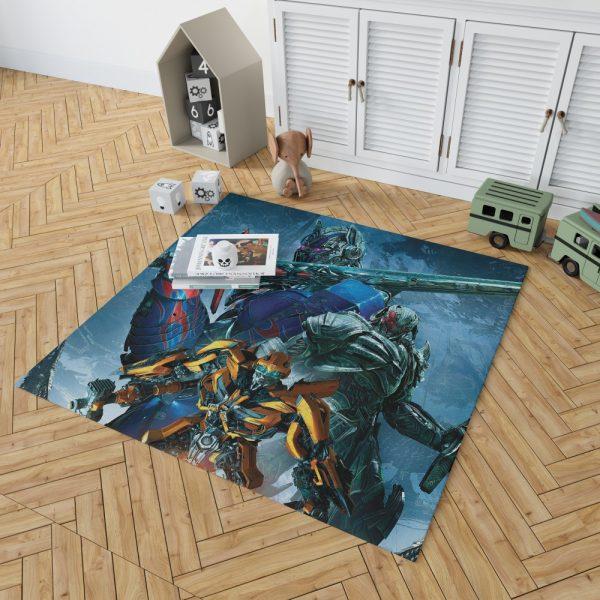 Transformers The Last Knight Movie Bumblebee Megatron Optimus Prime Bedroom Living Room Floor Carpet Rug 2
