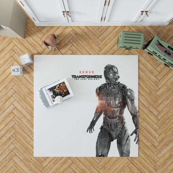 Transformers The Last Knight Movie Cogman Bedroom Living Room Floor Carpet Rug 1