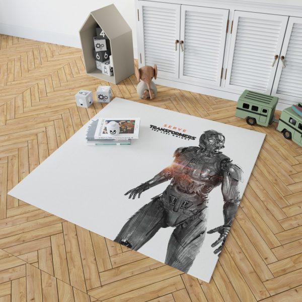 Transformers The Last Knight Movie Cogman Bedroom Living Room Floor Carpet Rug 2