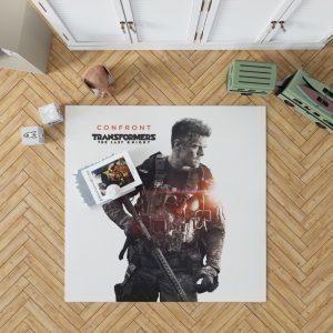 Transformers The Last Knight Movie Josh Duhamel Bedroom Living Room Floor Carpet Rug 1