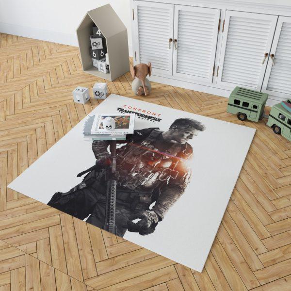 Transformers The Last Knight Movie Josh Duhamel Bedroom Living Room Floor Carpet Rug 2