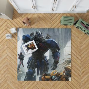 Transformers The Last Knight Movie Optimus Prime Bedroom Living Room Floor Carpet Rug 1