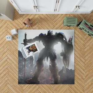 Transformers The Last Knight Movie Optimus Prime Robot Shield Sword Bedroom Living Room Floor Carpet Rug 1