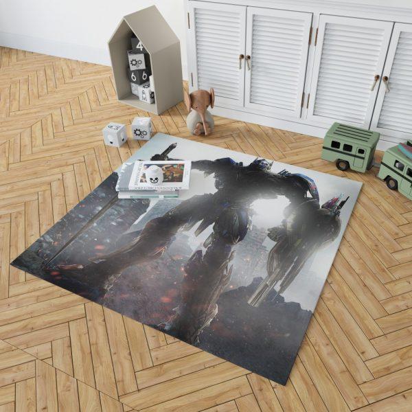 Transformers The Last Knight Movie Optimus Prime Robot Shield Sword Bedroom Living Room Floor Carpet Rug 2