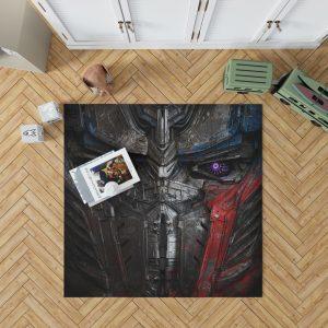 Transformers The Last Knight Movie Optimus Prime Transformers 5 Bedroom Living Room Floor Carpet Rug 1