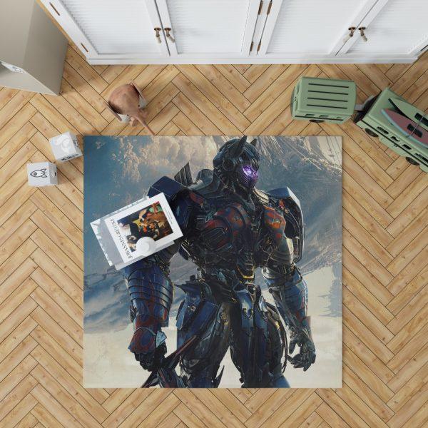 Transformers The Last Knight Sci-fi Thriller Movie Optimus Prime Bedroom Living Room Floor Carpet Rug 1