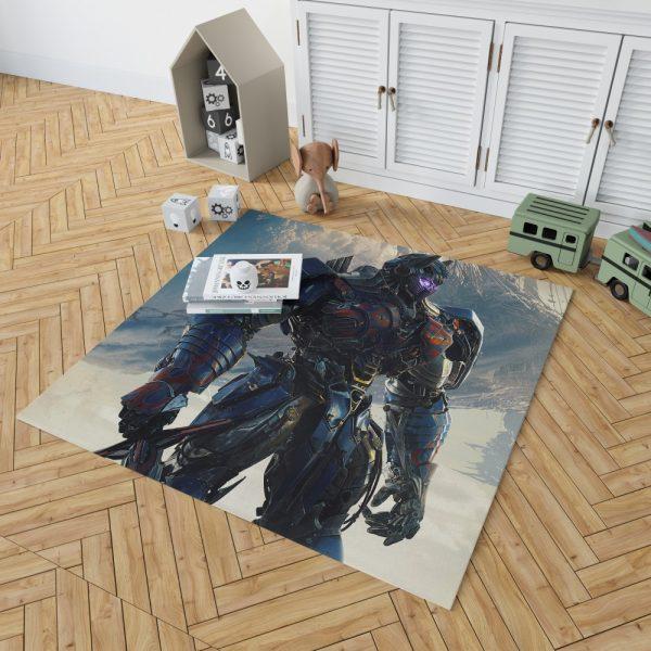 Transformers The Last Knight Sci-fi Thriller Movie Optimus Prime Bedroom Living Room Floor Carpet Rug 2