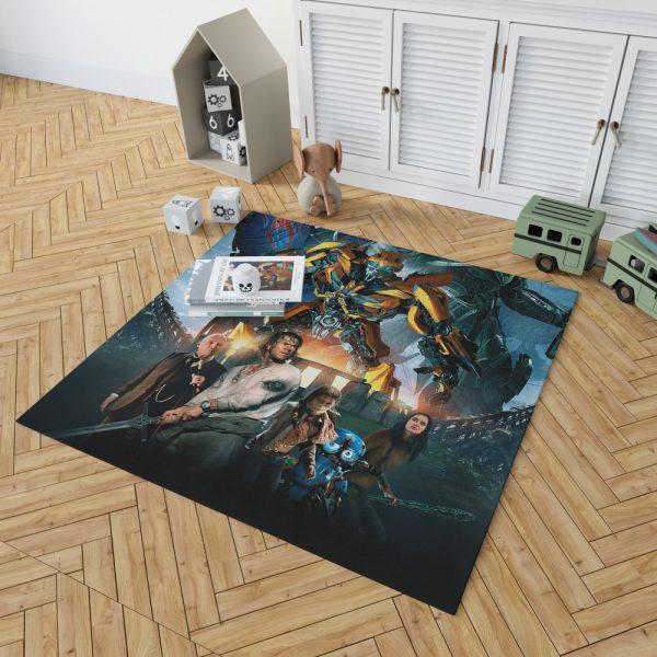 Transformers the Last Knight Bumblebee Mark Wahlberg Bedroom Living Room Floor Carpet Rug 2