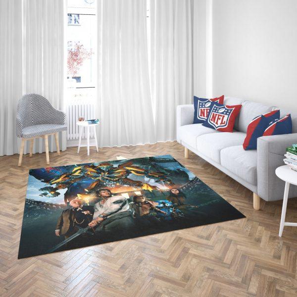 Transformers the Last Knight Bumblebee Mark Wahlberg Bedroom Living Room Floor Carpet Rug 3