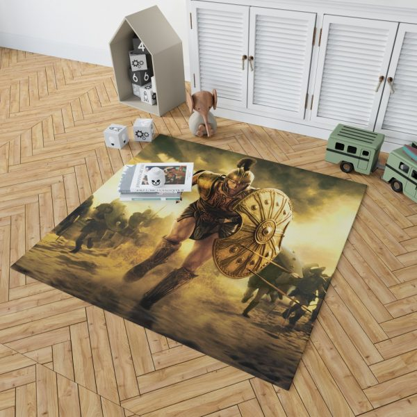 Troy Achilles Brad Pitt Adventure Bedroom Living Room Floor Carpet Rug 2