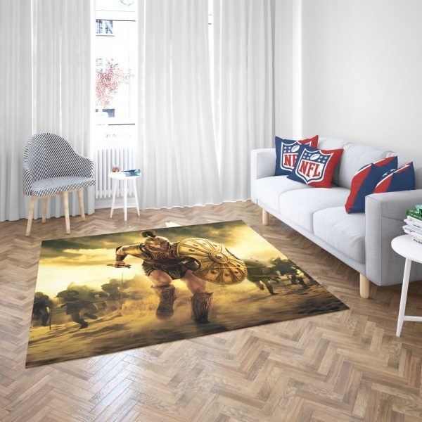 Troy Achilles Brad Pitt Adventure Bedroom Living Room Floor Carpet Rug 3