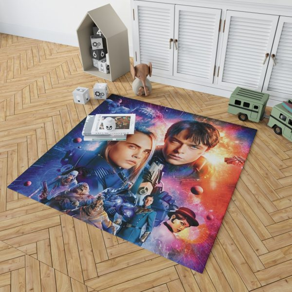 Valerian And The City Of A Thousand Planets Bedroom Living Room Floor Carpet Rug 2