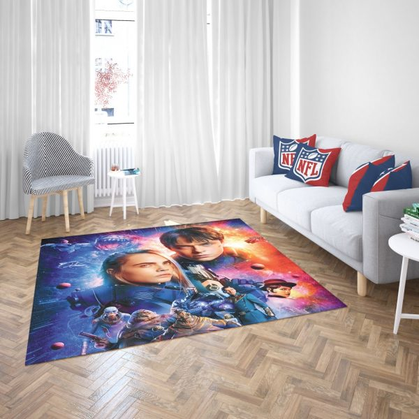 Valerian And The City Of A Thousand Planets Bedroom Living Room Floor Carpet Rug 3