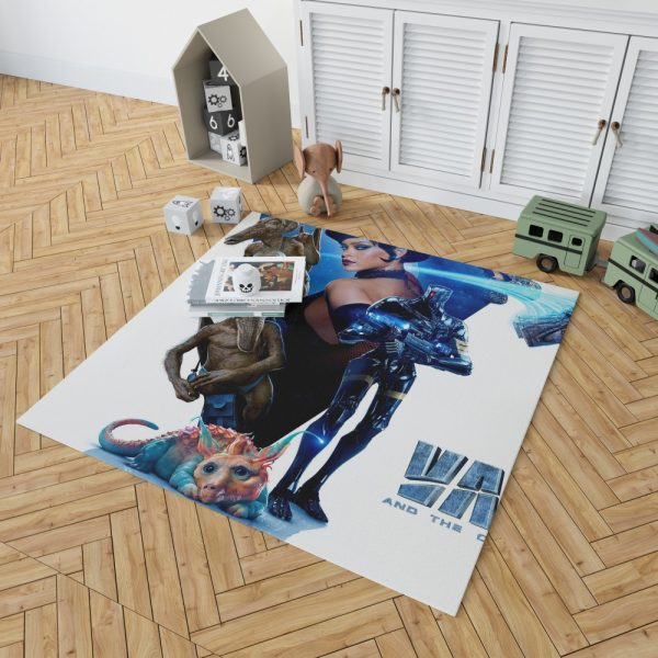 Valerian and the City of a Thousand Planets Movie Rihanna Bedroom Living Room Floor Carpet Rug 2