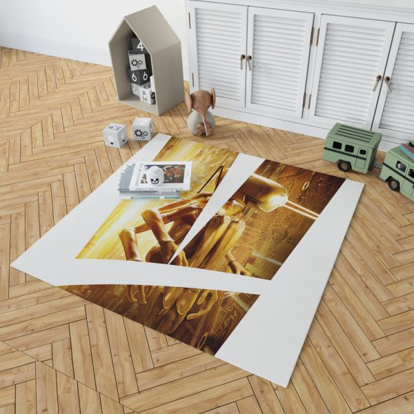 Valerian and the City of a Thousand Planets Movie Robot Bedroom Living Room Floor Carpet Rug 2