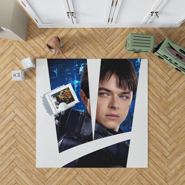 Valerian and the City of a Thousand Planets Movie Valerian Dane Dehaan Bedroom Living Room Floor Carpet Rug 1