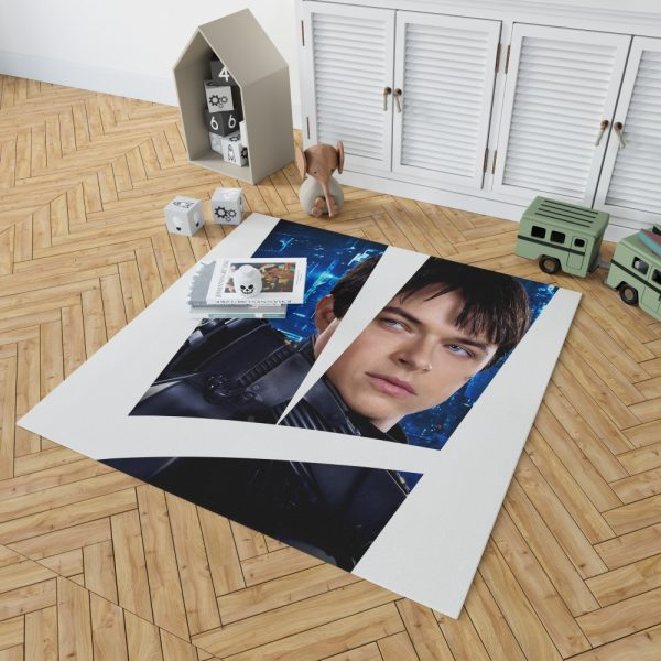 Valerian and the City of a Thousand Planets Movie Valerian Dane Dehaan Bedroom Living Room Floor Carpet Rug 2