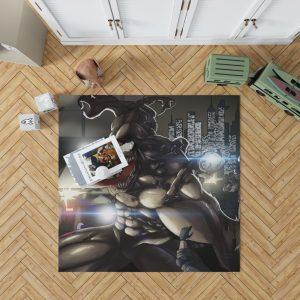 Venom Movie Marvel Bedroom Living Room Floor Carpet Rug 1
