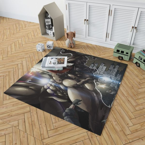 Venom Movie Marvel Bedroom Living Room Floor Carpet Rug 2