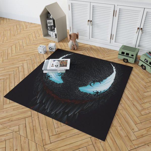 Venom Movie Riot Marvel Comics Bedroom Living Room Floor Carpet Rug 2
